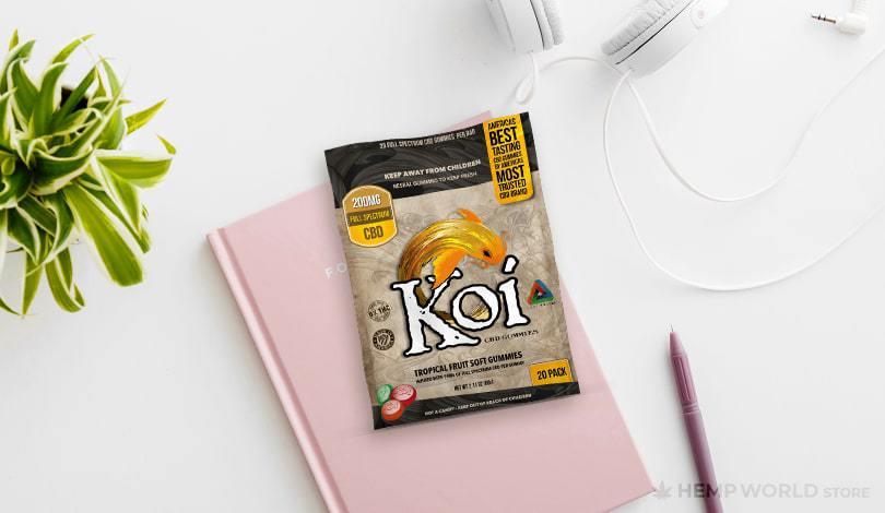 Koi CBD products