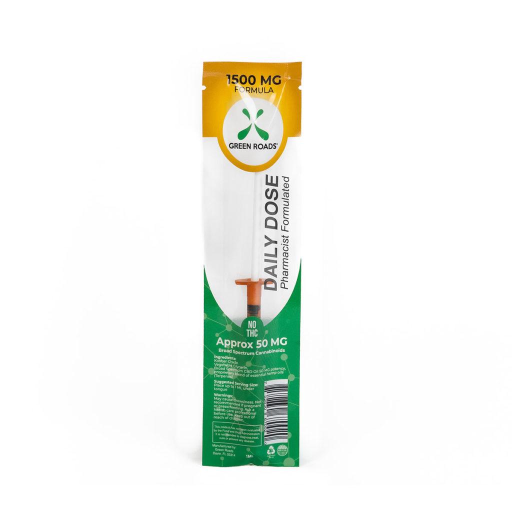 GreenRoads Daily Dose 1500 mg   Hempworldstore