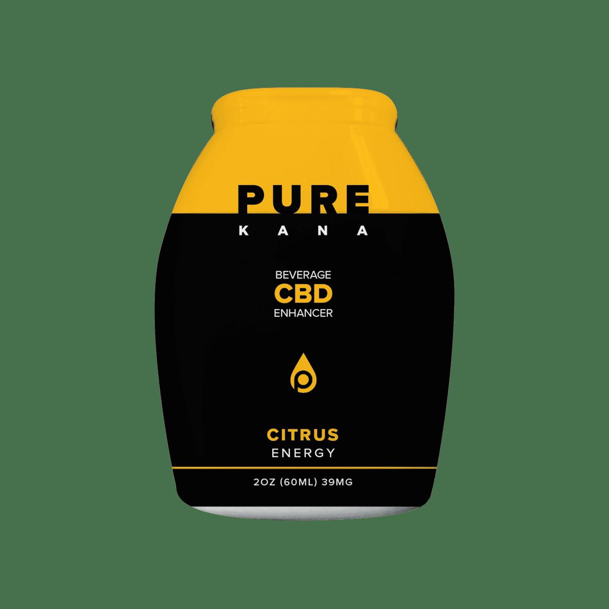 PureKana Citrus for Energy CBD Beverage Enhancer 2oz (60ml) 39mg CBD | PureKana