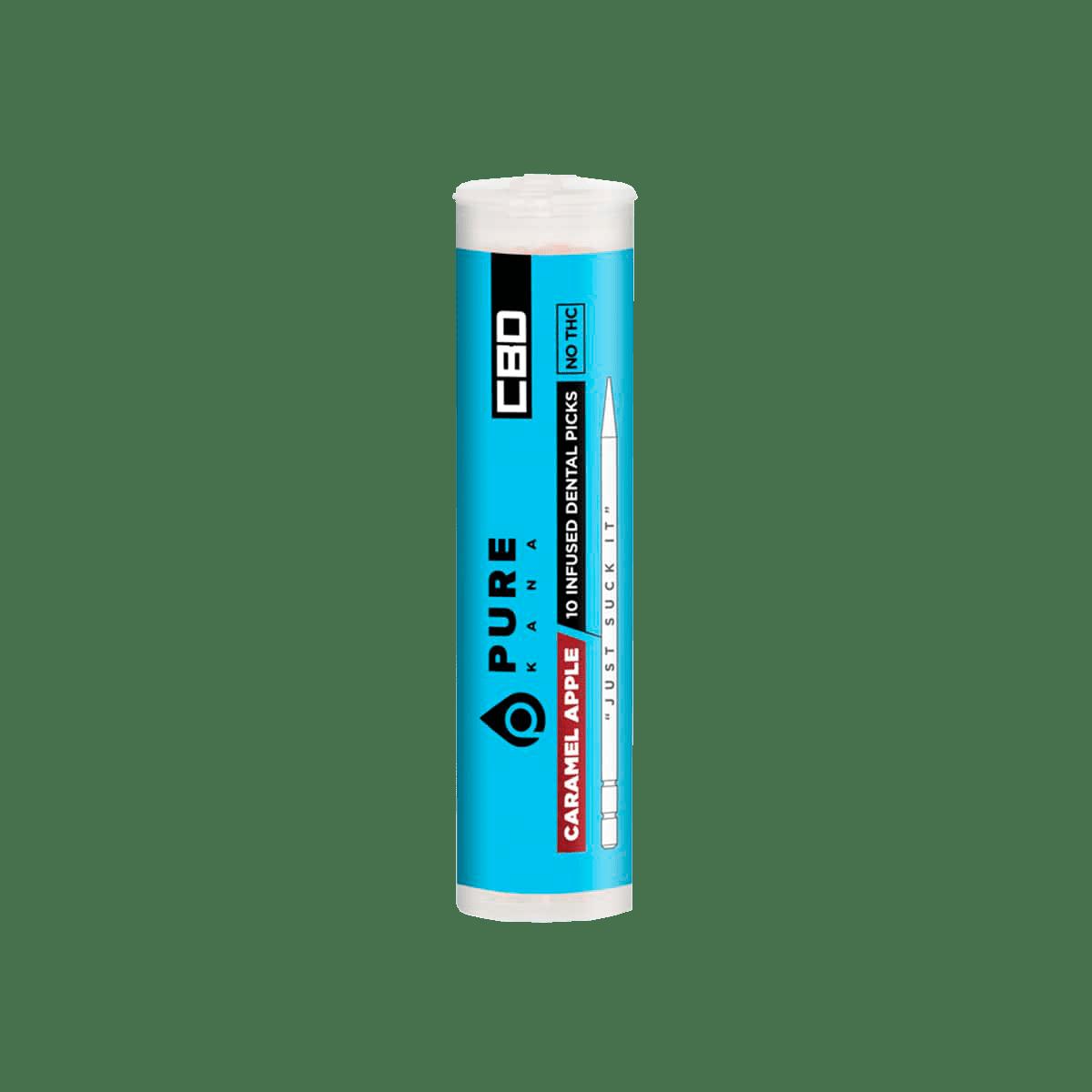 PureKana Caramel Apple CBD Pure Picks - 250mg (25mg CBD per pick)