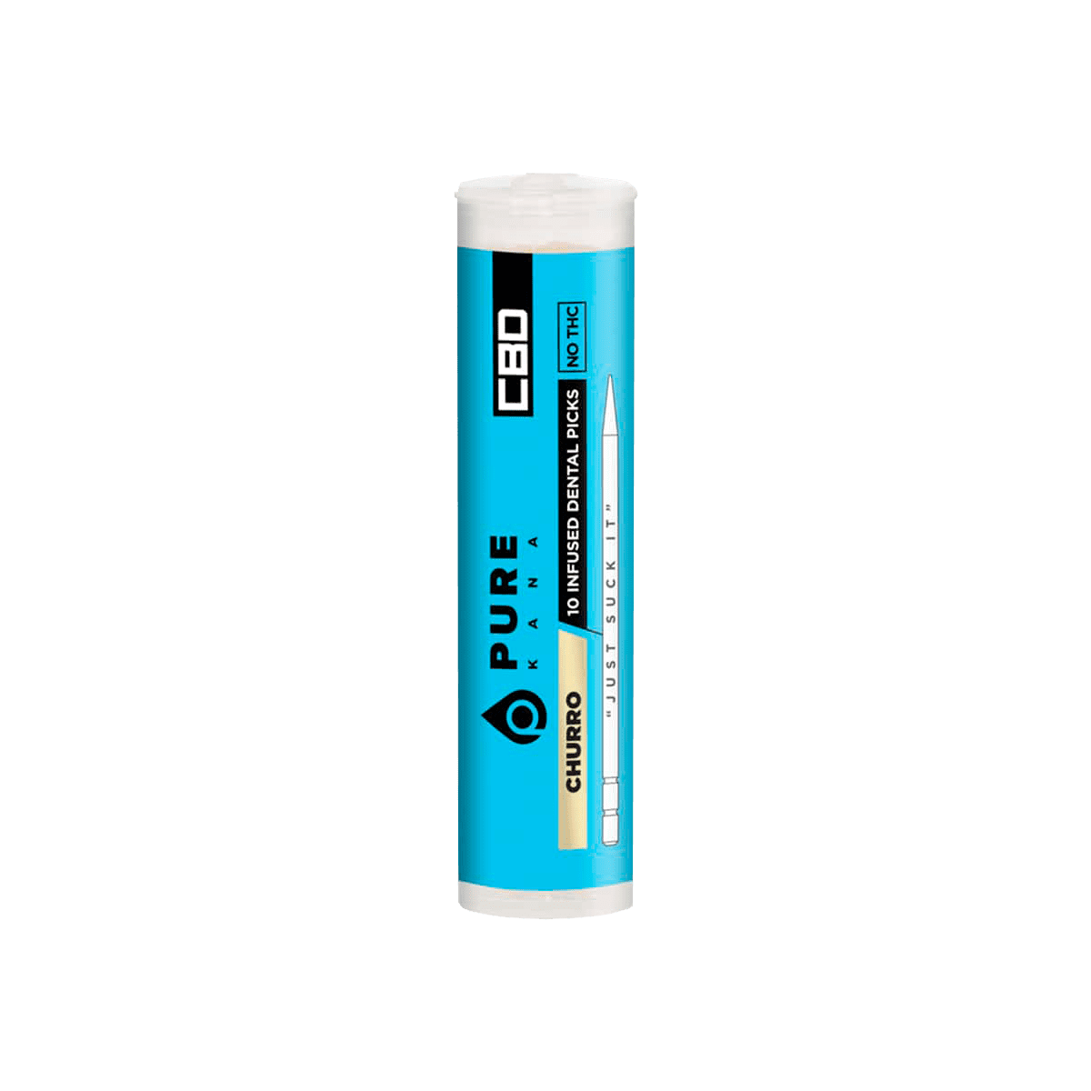 PureKana Churro CBD Pure Picks – 250mg (25mg CBD Per Pick)