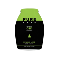 PureKana Lemon Lime for Immunity CBD Beverage Enhancer