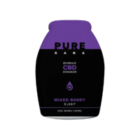 PureKana Mixed Berry for Sleep CBD Beverage Enhancer 2oz (60ml) 120mg CBD | PureKana