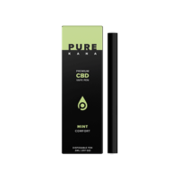 PureKana Mint CBD Vape Pen (Comfort) - 231mg (1.85mg CBD per serving)