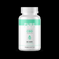 PureKana CBD Capsules - 750mg (25 mg CBD per capsule )
