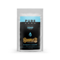 PureKana Blueberry & Chicken Hemp Dog Treats - 25mg