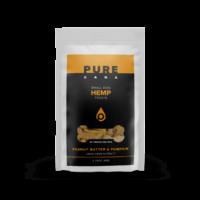 PureKana Peanut Butter & Pumpkin Hemp Dog Treats – 25mg