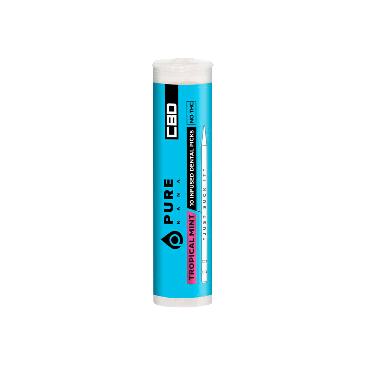 PureKana Tropical Mint CBD Pure Picks - 250mg (25mg CBD per pick)
