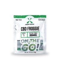 Green Roads CBD Froggie – 25mg (25mg CBD per Froggie) – 0.5oz