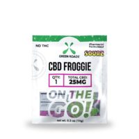 Green Roads CBD Sour Froggies - 25mg (25mg CBD per froggie) - 0,5oz