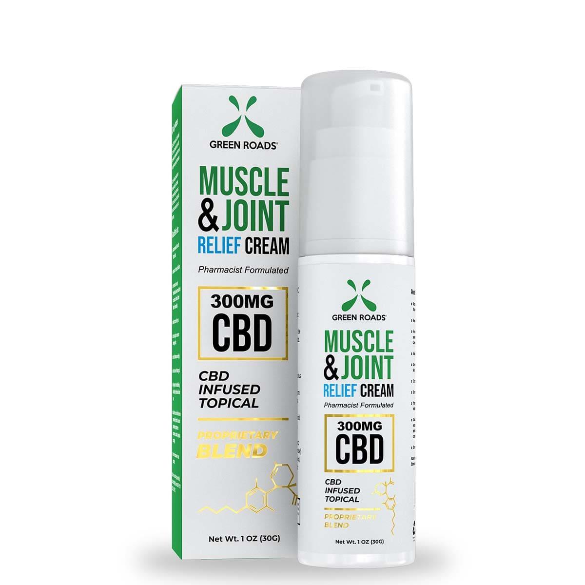 Green Roads Soothing CBD Topical Cream - 300mg CBD - 1oz