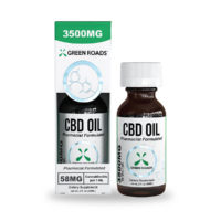 Green Roads CBD Oil – 3500mg (58mg CBD Per Serving) – 60ml