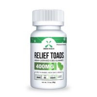 Green Roads CBD Relief Toads - 400mg (10mg CBD per gummy) - 1,4oz