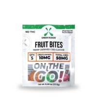 Green Roads Fruit CBD Bites - 50mg (10mg CBD per bite) - 0,44oz