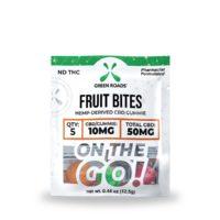 Green Roads Fruit CBD Bites - 50mg (10mg CBD per bite) - 0,44oz