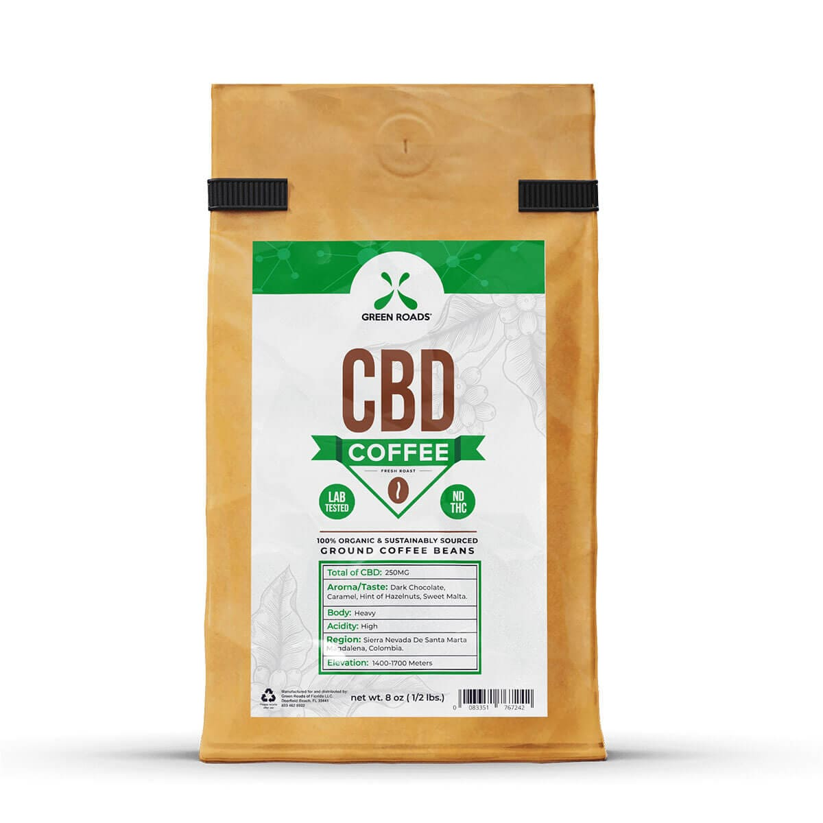 Green Roads CBD Coffee – 250mg