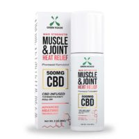 Green Roads CBD Muscle & Joint Heat Relief – 500mg CBD – 3oz