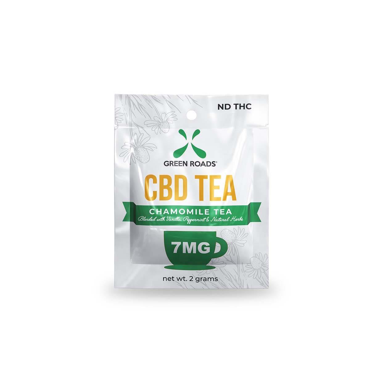 Green Roads CBD Tea - 7mg (7mg CBD / 2 G Tea) - 2grams