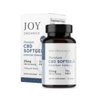 Joy Organics CBD Softgels – 750mg (25mg per Capsule)